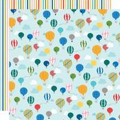 Balloon Ride Paper - Let's Go On An Adventure