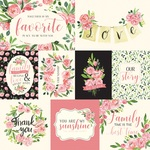 Sweet Pea Journaling Cards Paper - Botanical Garden - Carta Bella