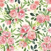 Sweet Pea Cluster Paper - Botanical Garden - Carta Bella