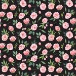 Sweet Pea Garland Paper - Botanical Garden - Carta Bella