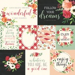 Poppy Journaling Cards Paper - Botanical Garden - Carta Bella