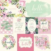 Daisy Journaling Cards Paper - Botanical Garden - Carta Bella