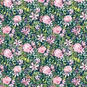 Daisy Corsage Paper - Botanical Garden - Carta Bella