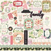 Botanical Garden Element Sticker - Carta Bella