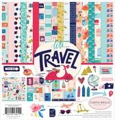Let's Travel Collection Kit - Carta Bella - PRE ORDER
