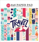 Let's Travel 6x6 Paper Pad - Carta Bella - PRE ORDER
