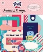 Let's Travel Frames & Tags - Carta Bella