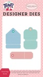 Travel Tags Die Set - Carta Bella