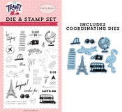 Let's Go Die & Stamp Set - Carta Bella