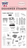 Adventure Begins Here Stamp Set - Carta Bella