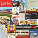 Multi Journaling Cards Paper - All Aboard - Carta Bella