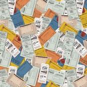 Tickets Paper - All Aboard - Carta Bella