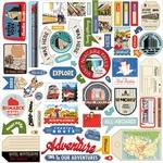 All Aboard Element Sticker - Carta Bella
