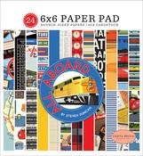 All Aboard 6x6 Paper Pad - Carta Bella