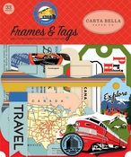 All Aboard Frames & Tags - Carta Bella