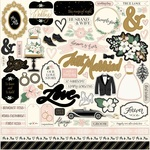 Wedding Day Element Sticker - Echo Park