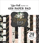 Wedding Day 6x6 Paper Pad - Echo Park
