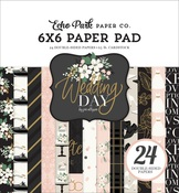 Wedding Day 6x6 Paper Pad - Echo Park - PRE ORDER