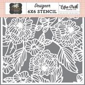 Floral Bouquet Stencil - Echo Park