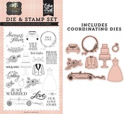 Our Love Story Die & Stamp Set - Echo Park