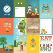 3x4 Journaling Cards Paper - Summer Adventure - Echo Park - PRE ORDER