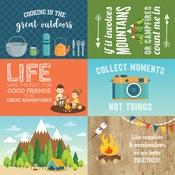 4x6 Journaling Cards Paper - Summer Adventure - Echo Park - PRE ORDER