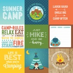 4x4 Journaling Cards Paper - Summer Adventure - Echo Park