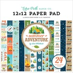 Summer Adventure 12X12 Paper Pad - Echo Park