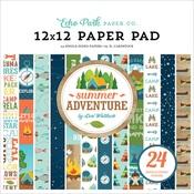 Summer Adventure 12X12 Paper Pad - Echo Park
