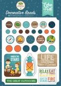 Summer Adventure Decorative Brads - Echo Park