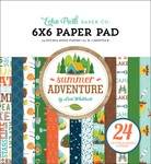 Summer Adventure 6x6 Paper Pad - Echo Park