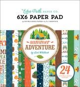 Summer Adventure 6x6 Paper Pad - Echo Park