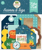 Summer Adventure Frames & Tags - Echo Park