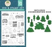 Escape to Nature Die & Stamp Set - Echo Park
