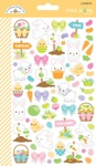 Hoppy Easter Mini Icon Stickers - Doodlebug - PRE ORDER