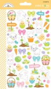 Hoppy Easter Mini Icon Stickers - Doodlebug