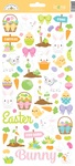 Hoppy Easter Icon Sticker Sheet - Doodlebug - PRE ORDER