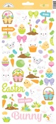 Hoppy Easter Icon Sticker Sheet - Doodlebug