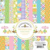 Hoppy Easter 6 x 6 Paper Pad - Doodlebug