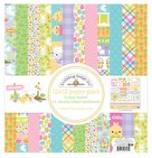 Hoppy Easter 12 x 12 Paper Pack - Doodlebug