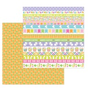 Carrot Patch Paper - Hoppy Easter - Doodlebug