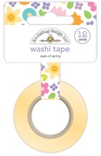 Signs Of Spring Washi Tape - Doodlebug