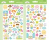 Simply Spring Mini Icon Sticker Sheets - Doodlebug