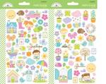 Simply Spring Mini Icon Sticker Sheets - Doodlebug