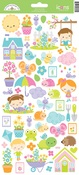 Simply Spring Icon Sticker Sheet - Doodlebug
