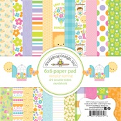 Simply Spring 6 x 6 Paper Pad - Doodlebug