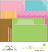 Simply Spring Cards & Envelopes - Doodlebug