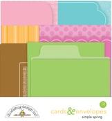 Simply Spring Cards & Envelopes - Doodlebug - PRE ORDER