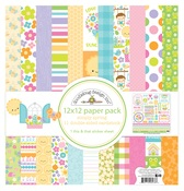 Simply Spring 12 x 12 Paper Pack - Doodlebug