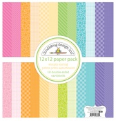 Simply Spring Petite Print Assortment Paper Pack - Doodlebug